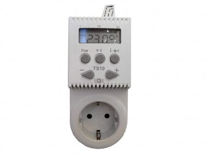 Steckerthermostat digital, Steckdosenthermostat für Infrarotheizung Heizpaneele