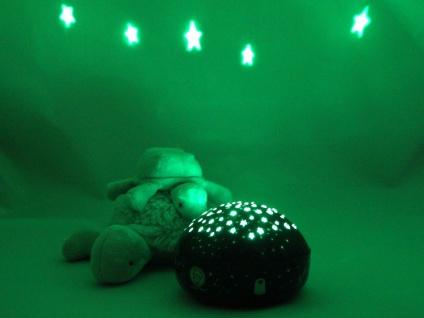 2er Set LED Nachtlicht Baby, projiziert Sterne ins Kinderzimmer Schlummerlampe - Vorschau 4
