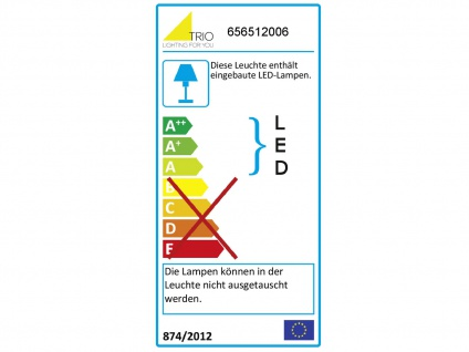 Coole LED Flurlampe eckig mit Switch Dimmer, IP44 Deckenleuchte Bad 40x40cm - Vorschau 4