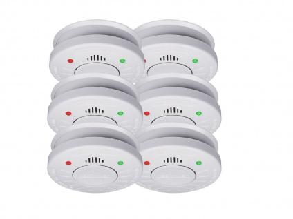 6er Set ELRO Rauchmelder 10 Jahre Batterie VdS Zertifiziert, Küchen geeignet - Vorschau 2