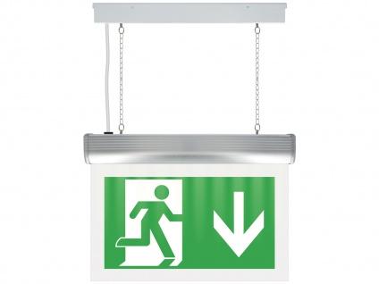 Orientierungs-Notbeleuchtungsschilder mit LED-Notbeleuchtung, NV42