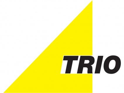 TRIO Deckenleuchte / Deckenschale, 2 x E27, Ø 30cm, Dekorglas weiß - Vorschau 3