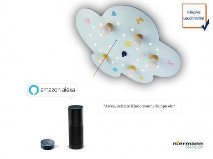 LED Deckenleuchte Babyline Zugschalter LED-Schlummerlicht Amazon Echo kompatibel