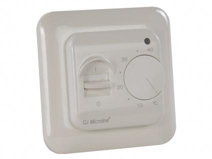 Vitalheizung Standard-Thermostat für Heizpaneele, Ein-/Ausschalter