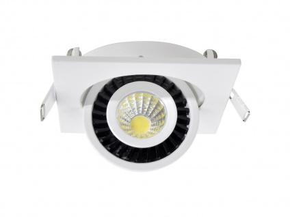LED Einbaustrahler 3W Spot schwenkbar weiß Deckenstrahler Einbauleuchte Leuchte - Vorschau 3