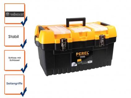 Werkzeugkiste Werkzeugkasten Werkzeugkoffer Kunststoff, 564x310x310 mm
