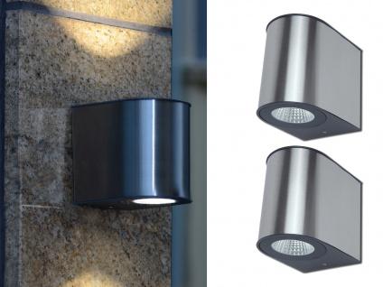 Hochwertige Edelstahl LED Außenwandleuchten mit Up and Down für den Außenbereich