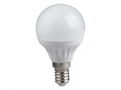 LED Tropfen Leuchtmittel mit E14 Fassung 5 Watt in Warmweiß 400Lm, nicht dimmbar
