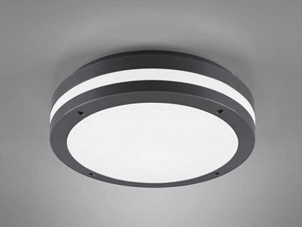 LED Außenleuchte Anthrazit rund Deckenlampen Wandlampen Gartenlampen mit Strom
