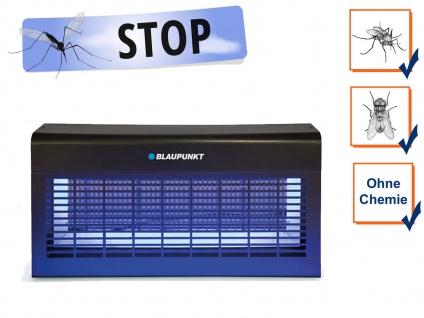 LED Insektenvernichter elektrisch mit UV Licht, Stechmücken bekämpfen bis 250 m²