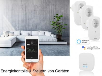 SmartHome Funksteckdosen per App steuern - intelligenter Stromzähler Messgerät