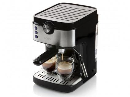 Espressomaschine mit Milchaufschäumer - Siebträger Kaffeemaschine für Zuhause - Vorschau 5