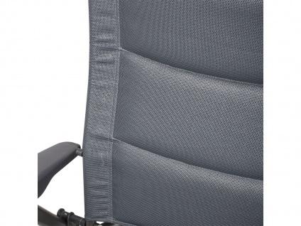 Campingstuhl / Liegestuhl Napoli XL, in 7 Positionen verstellbar, Dunkelgrau - Vorschau 5