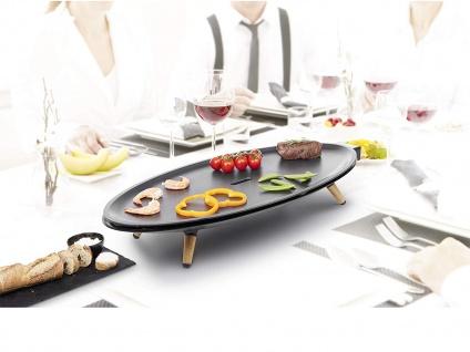 PRINCESS ovaler DESIGN XL Teppanyaki für 2/4/6 Personen - Japanischer Tischgrill