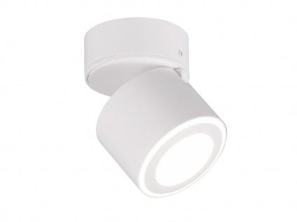 Kleiner LED Deckenstrahler Weiß rund schwenkbare Deckenlampen für Flur und Diele - Vorschau 2