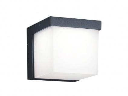 LED Außenwandleuchte, Terrassenbeleuchtung Wand, Design Würfel, Außenleuchte - Vorschau 2