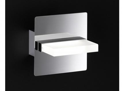 Moderne 1 flammige LED Wandleuchte SPORTO eckig 12x12 cm
