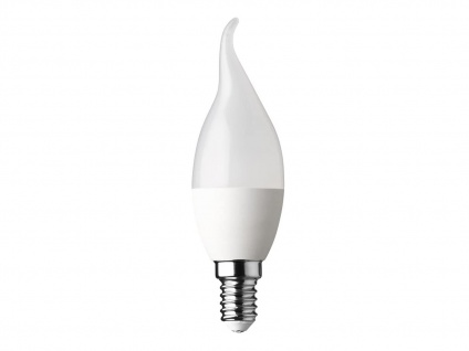 LED Leuchtmittel mit E14 & 5, 5W warmweiß, Kerze Flamme 470 Lumen, nicht dimmbar