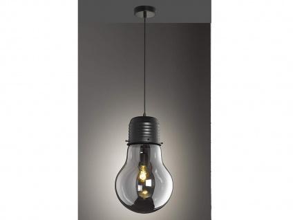 Coole Pendelleuchte LOUIS Ø28cm - Retro Hängelampe Design Glühbirne für Esstisch - Vorschau 1