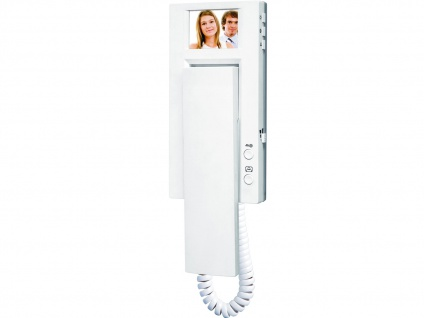 Zusatzeinheit mit Monitor für Videotürsprechanlagen der VD60-Serie, Sprechanlage