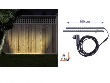2er-Set LED Fassadenbeleuchtung IP65 indirekte Beleuchtung Lichtstreifen Strips