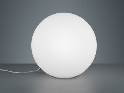 Ausgefallene Designerlampen Glaskugel Tischleuchte Opalglas Nachttischlampe Loft