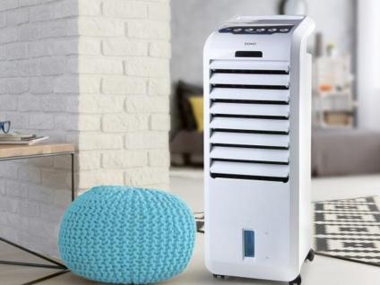 Turmventilator mit Fernbedienung & Wasserkühlung 5Liter Wassertank Kühlfunktion