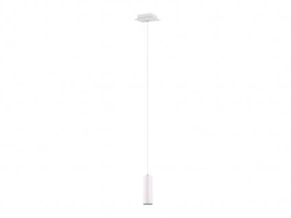 LED Hängeleuchte - weißes Pendel für Wohnraum, Esszimmer, Flur, Bar & Küche, dimmbar - Vorschau 2