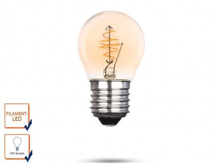 LED Leuchtmittel Globe 3 Watt, 150 Lumen, 2000 Kelvin, E27-Sockel Filament LED