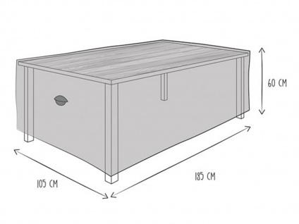 Gartenmöbel Schutzhülle Abdeckung für Gartentisch 180 x 105cm, wetterfeste Plane