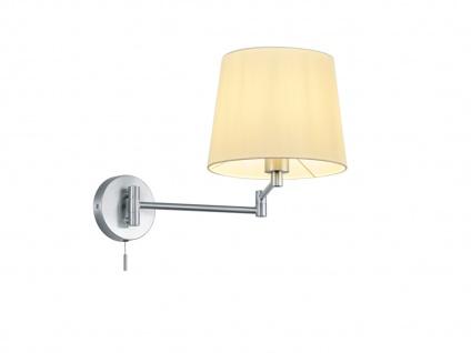 Schwenkbare LED Wandleuchte Wandmontage Leselampe mit Schalter und flexiblem Arm