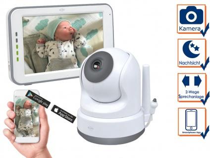 Babyphone mit Kamera und APP - über Smartphone Handy für Android als auch iphone