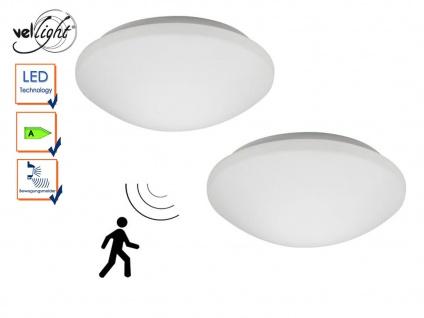 2er Set LED Deckenleuchten mit Bewegungsmelder, Deckenlampen Flur Treppenhaus