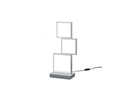 Moderner Fensterbank Tischleuchter, große Nachttischlampe für Jugendzimmer eckig - Vorschau 2
