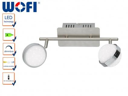 LED Deckenlampe STER, Fernbedienung, dimmbar, 3000-6500K, Deckenleuchte LED Spot