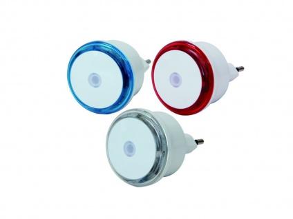 LED Nachtlicht Small Round im 3er Set, inkl. Dämmerungsschalter, GAO