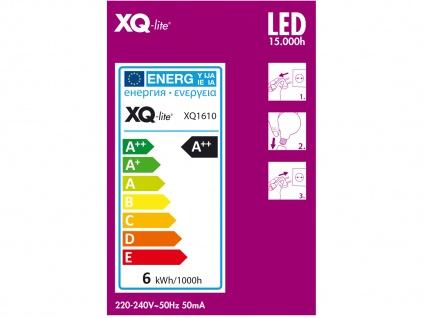 3er-Set FILAMENT LED Leuchtmittel Globe E27, 6 Watt, 806 Lumen, 2700K, warmweiß - Vorschau 3