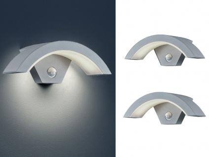 LED Außenwandlampen mit Bewegungsmelder Titan - 2 Außenleuchten Hausbeleuchtung