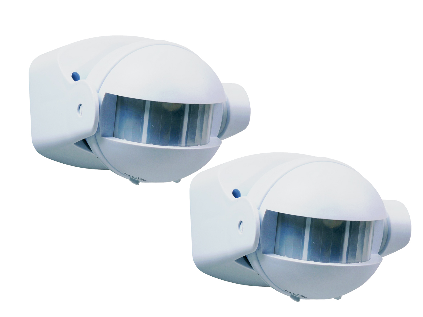 Bewegungsmelder Aufputz 180° für Innen und Außen LED IP44 weiss bis zu 12m