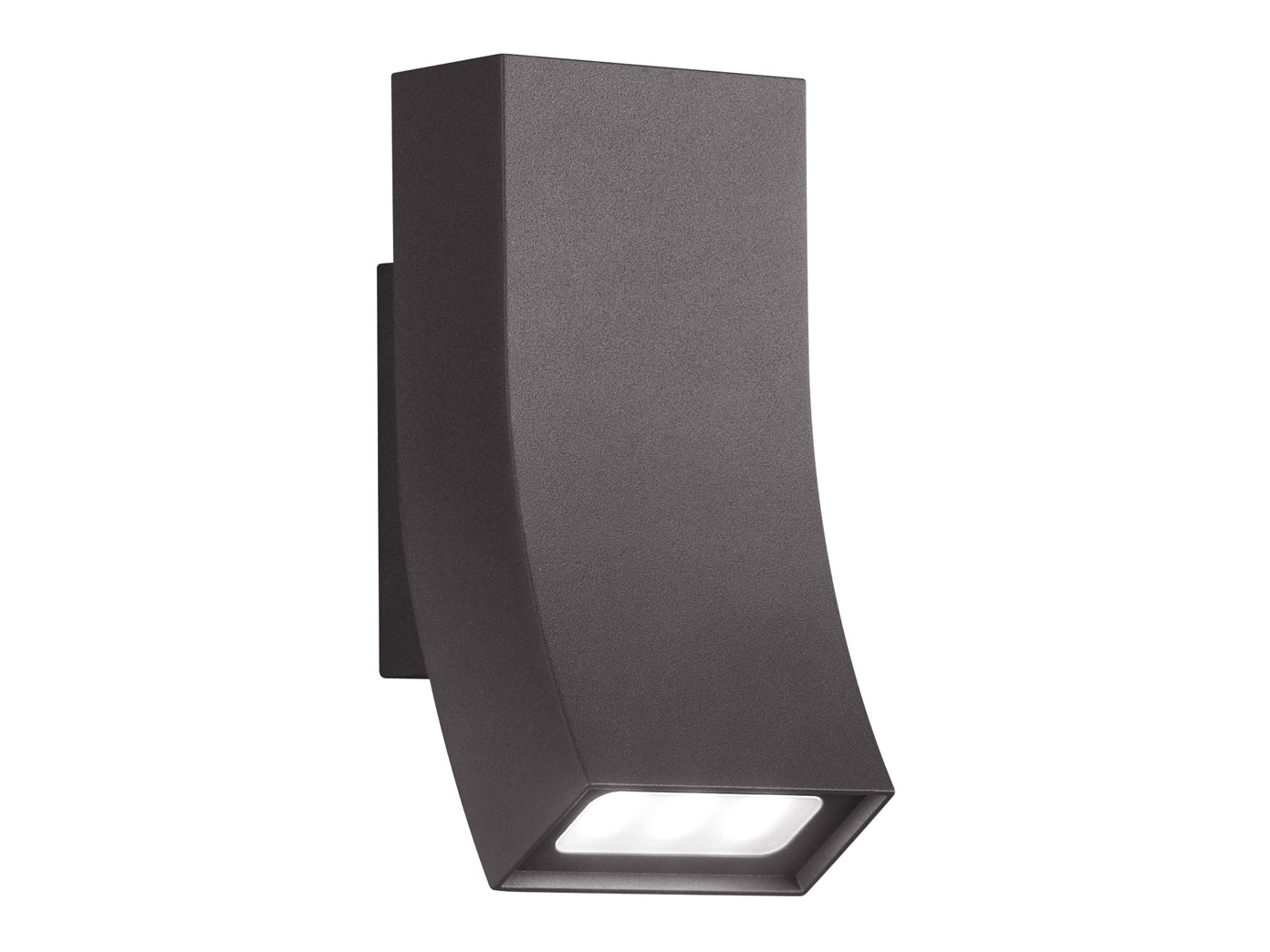 au en wandleuchte oka anthrazit up down 2 x 3 watt ip54. Black Bedroom Furniture Sets. Home Design Ideas