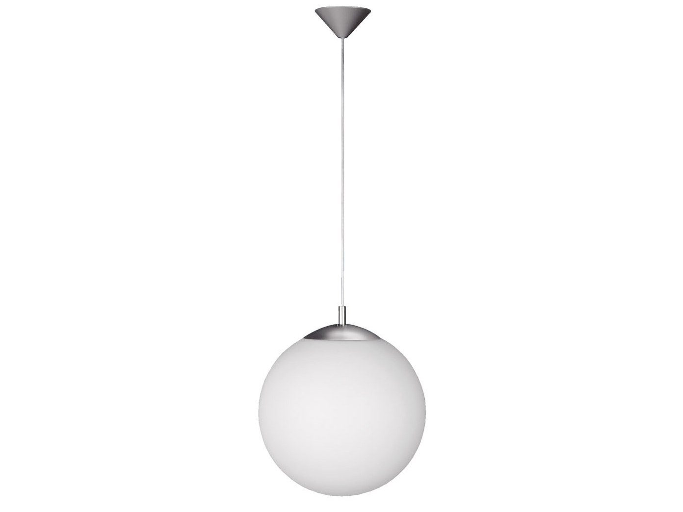 kugel pendelleuchte 35 cm glas opalwei wofi leuchten. Black Bedroom Furniture Sets. Home Design Ideas