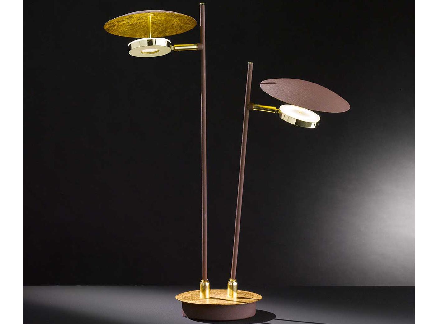 QqHAO LED Kronleuchter Tisch Kronleuchter mit 17 Glaskugel