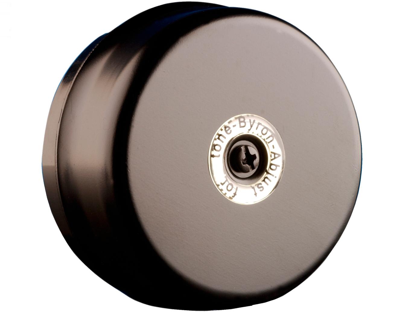 Fabulous Elektrische 2 Draht Türklingel schwarz rund klassischer Klingelton KQ28