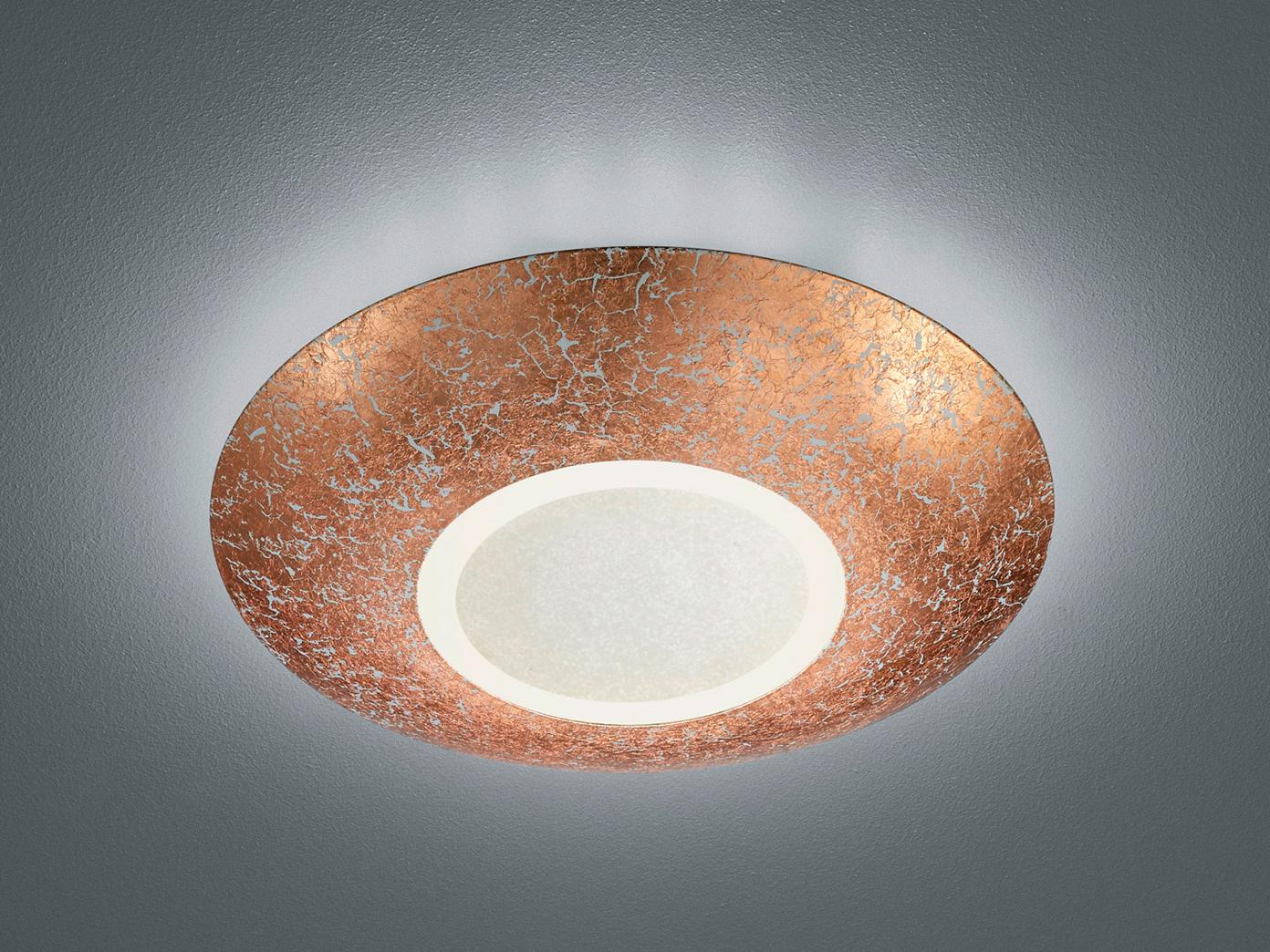 Retro LED Deckenleuchte Wohnzimmerlampen Deckenschale rund Ø 9cm