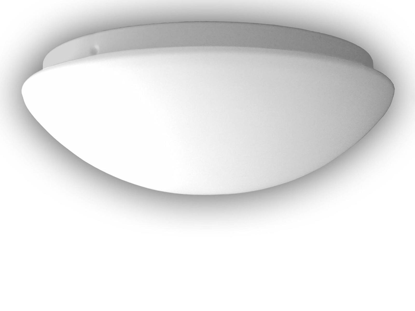 Led Deckenleuchte Deckenschale Rund Opal Glas Matt O 20cm Led