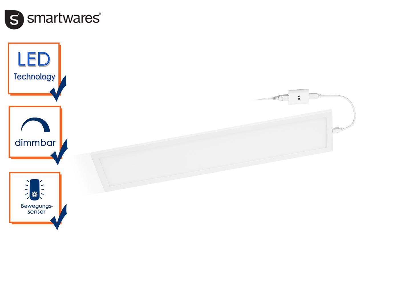 Dimmbare Led Lichtleiste Mit Bewegungssensor L 46cm Einbau In