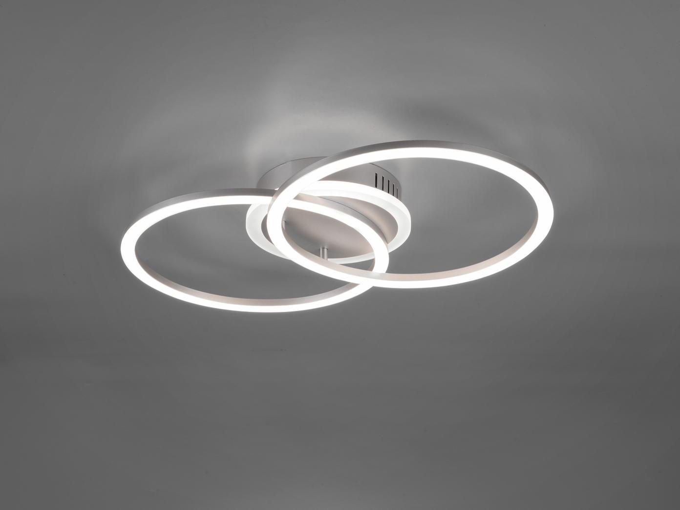 Grosse Led Deckenlampe Mit Dimmer Flache Ringleuchte Fur Wohnzimmer 50x30cm Kaufen Bei Setpoint Deutschland Gmbh