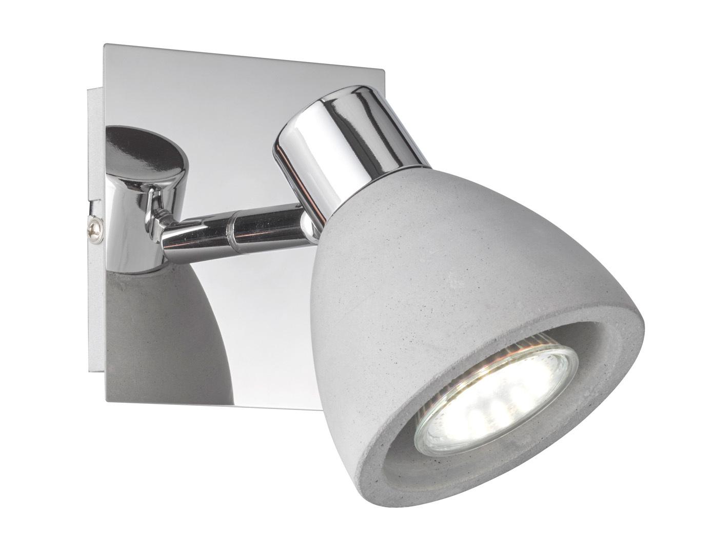 Vaak Retro Wandstrahler Lampenschirm Beton Spot schwenkbar GU10 DO02