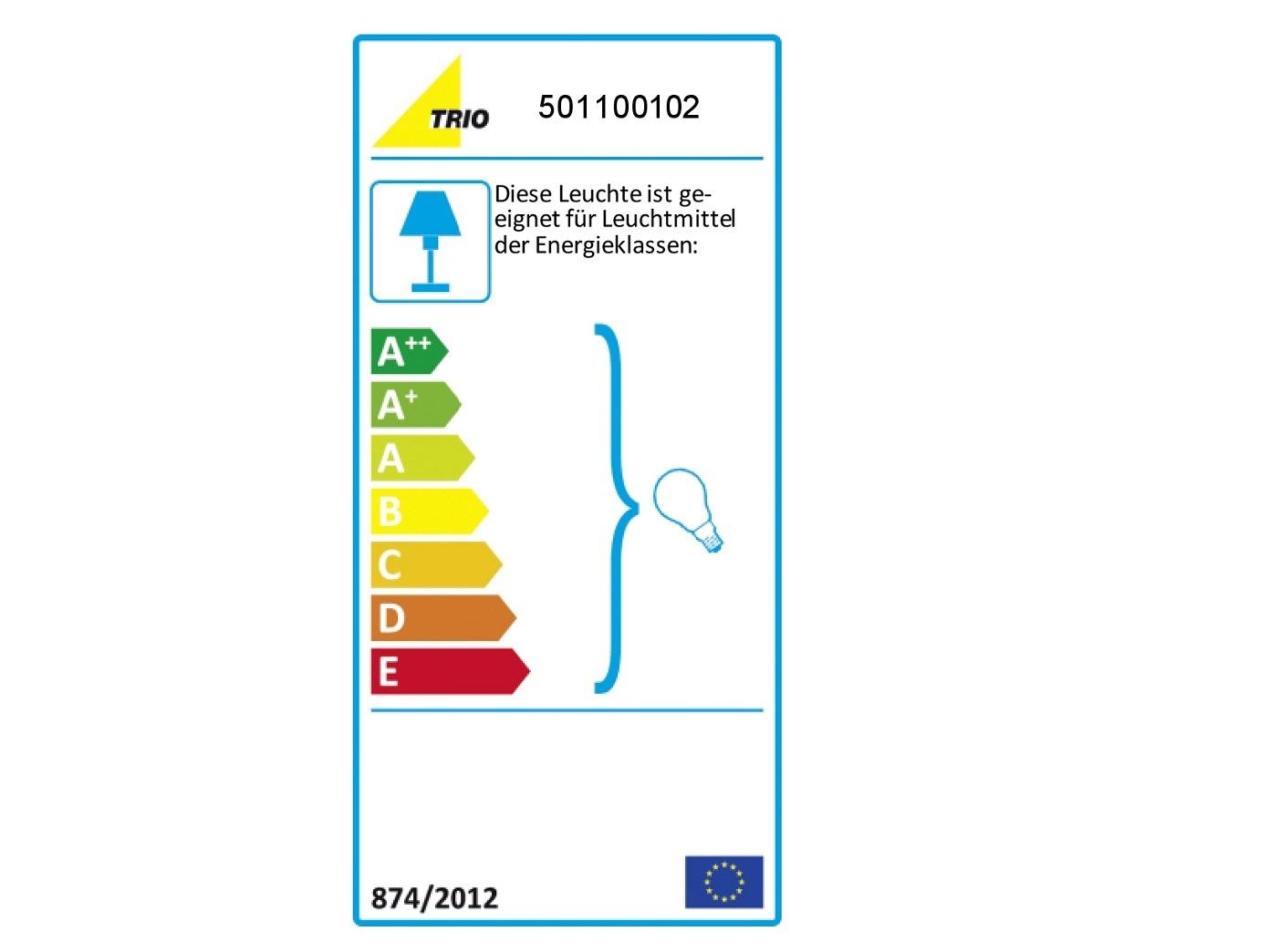 Kleine Tischleuchte Stoffschirm blau mit 4Stufen Dimmer Touchfunktion Flurlampe
