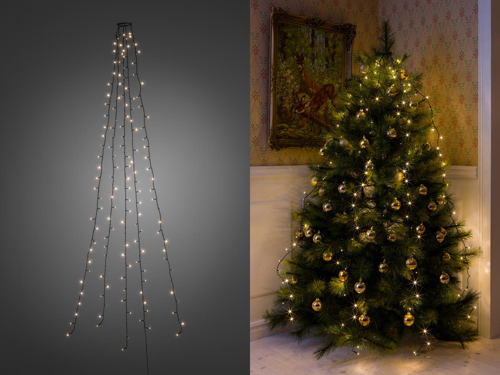 Lichterkette Weihnachtsbaum.Lichterkette Für Innen 150 Led S Weihnachtsbaum Beleuchtung Christbaum Haus